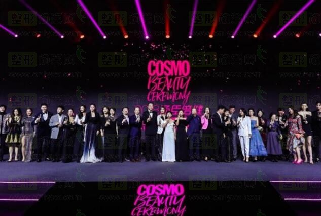 2018COSMO时尚盛典红毯秀,男的俊女的美